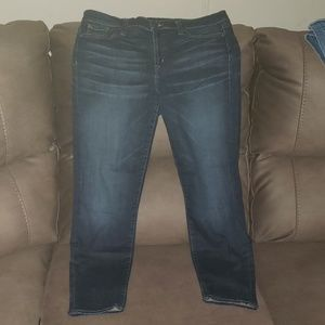J. Crew Toothpick Cropped Jeans size 32 (like 12)